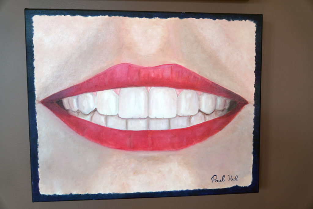 Painting by Dr Paul Hul | Point McKay Dental