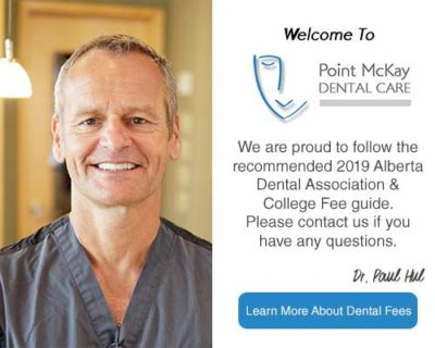 Point McKay Dental Fee Guide 2019